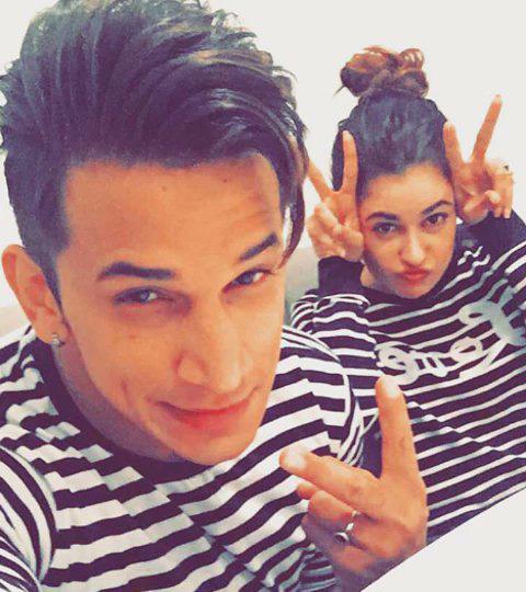yuvika chaudhary with prince narula