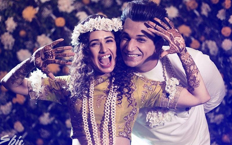 Prince Narula-Yuvika Chaudhary Mehendi Ceremony: Lovebirds Dance Their Heart Out On Dhol Beats