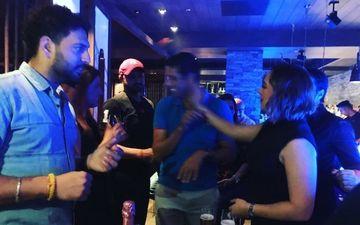 पत्नी हेजल कीच के जन्मदिन पर दोस्तों के साथ मिलकर युवराज सिंह ने की पार्टी, देखिए तस्वीरें