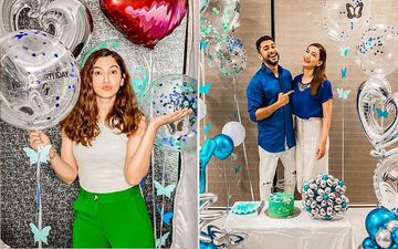 Gauahar Khan Has The 'Best Birthday Ever' As She Celebrates It With Rumoured Boyfriend Zaid Darbar And Her Close Friends