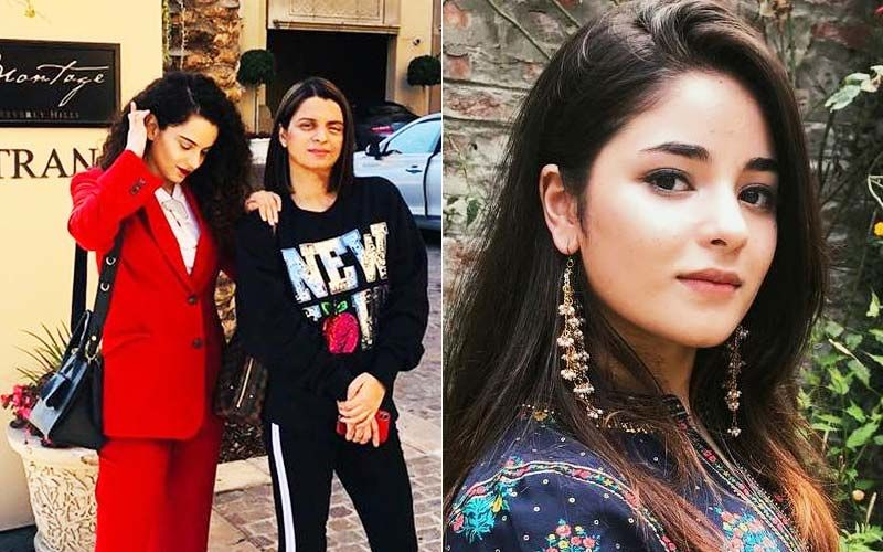 Kangana Ranaut's Sister Rangoli Is Proud Of 'Bharat Ki Beti' Zaira Wasim For Ensuring Her Molester Is Behind Bars