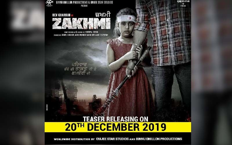 Dev Kharoud 'Zakhmi' Trailer To Release Today At 2pm, Here's What All You Need To Know About His Upcoming