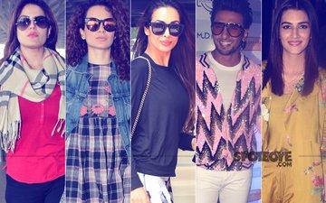 STUNNER OR BUMMER: Zareen Khan, Kangana Ranaut, Malaika Arora, Ranveer Singh Or Kriti Sanon?