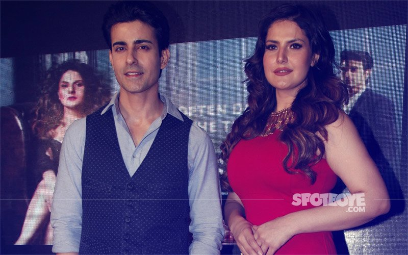 Zareen Khan & Gautam Rode At Aksar 2 Trailer Launch