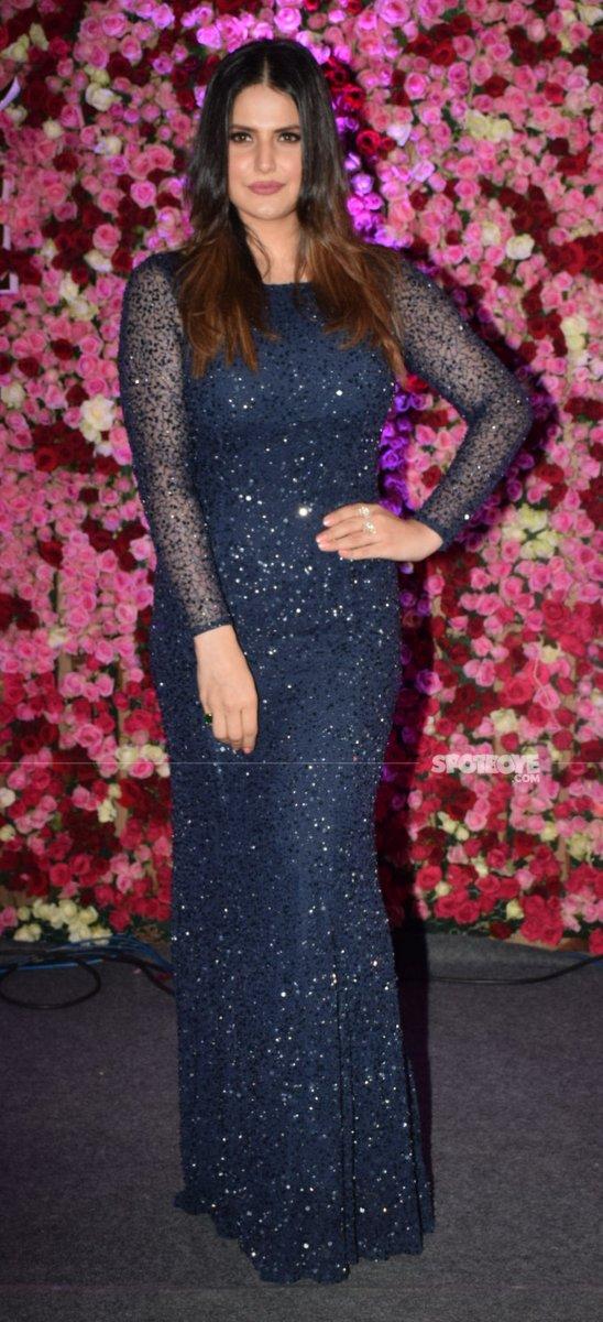 zareen khan at lux golden rose awards