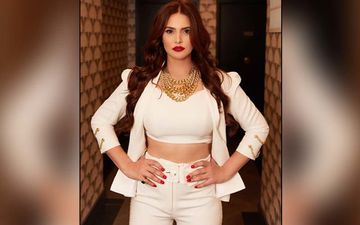 Zareen Khan Is Looking Like A Vision In All White Ensemble