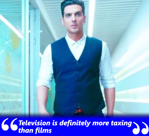zayed khan talks about his television debut