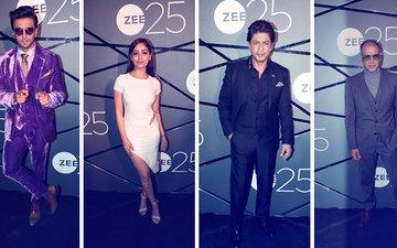 25 Years Of ZEE: Amitabh, Shah Rukh, Akshay, Kangana, Deepika, Ranveer Attend The DAZZLING NITE