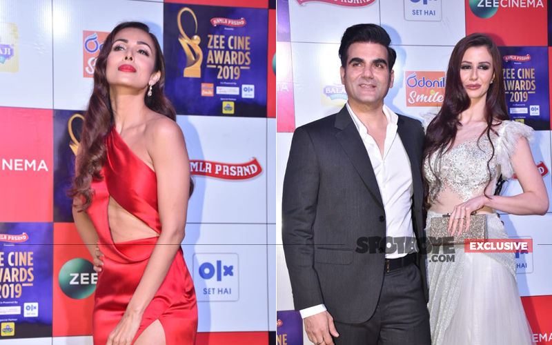 Zee Cine Awards 2019: Arbaaz Khan Enters With Girlfriend Georgia And Guess What Malaika Arora Did!