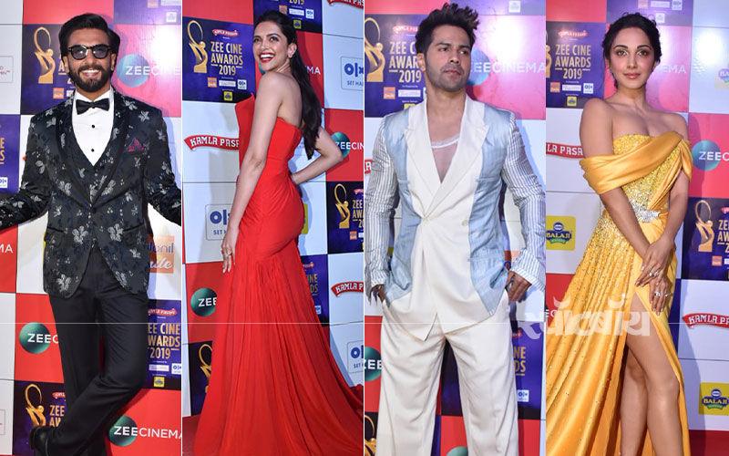 Zee Cine Awards 2019: देखिये रणवीर सिंह, दीपिका पादुकोण, वरुण धवन, कियारा अडवानी का रेड कारपेट लुक