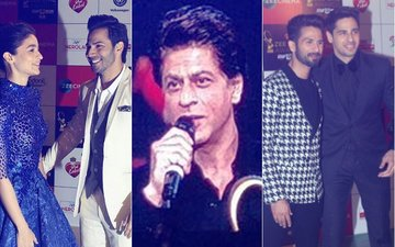 Zee Cine Awards 2018 Red Carpet Moments: Varun, Alia, Sidharth, Shahid, Shah Rukh Attend The Show