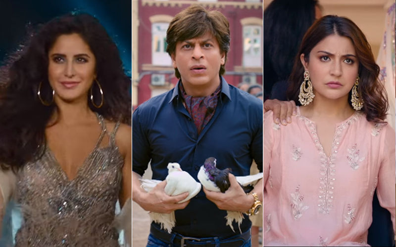 Zero Trailer: Shah Rukh Khan-Katrina Kaif-Anushka Sharma Ready To Make Your X'Mas  A Real Treat