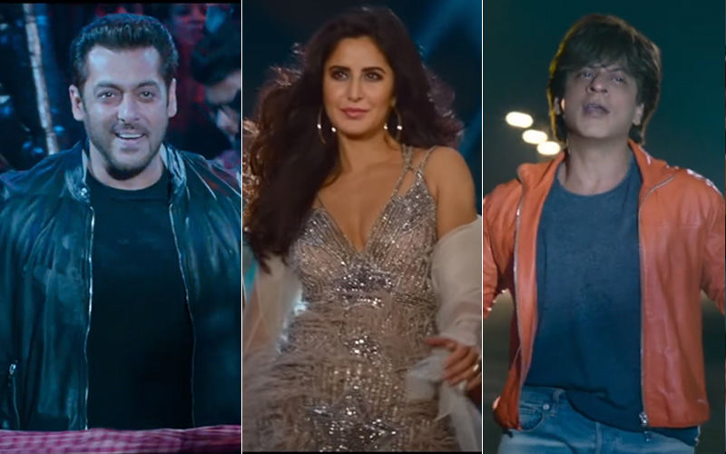 Zero Song, Issaqbaazi Starring Salman Khan-Shah Rukh Khan: Superstars Fight Over Katrina Kaif