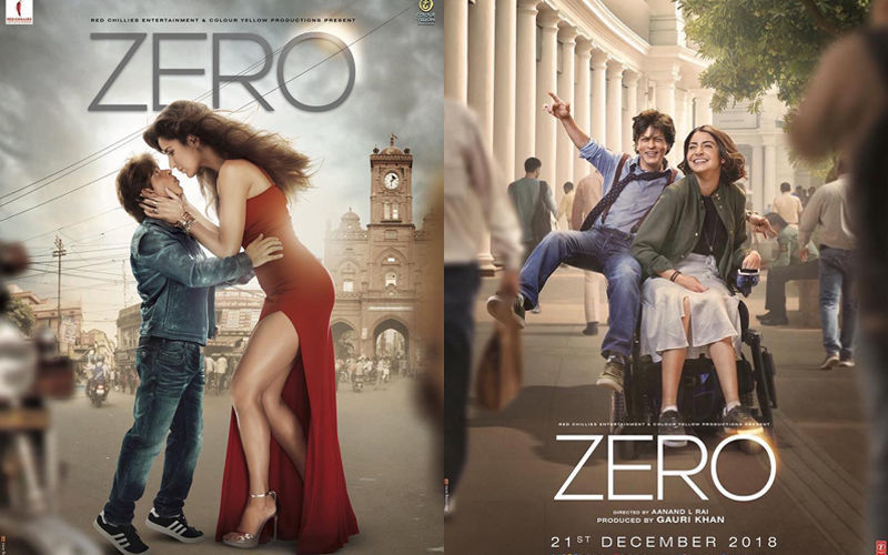 जीरो का पोस्टर हुआ रिलीज़: शाहरुख़ खान, अनुष्का शर्मा और कैटरीना कैफ की हटके लव स्टोरी की दिखी झलक