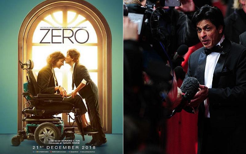 'जीरो' का रिव्यू करने पहुंचे पत्रकारों से शाहरुख़ खान ने की ये बिनती